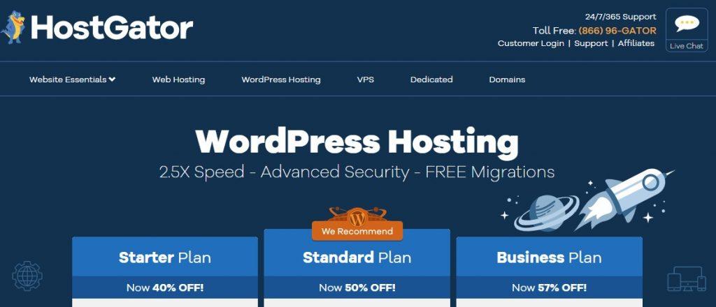 不推薦 Hostgator WordPress Hosting 的經驗談 1
