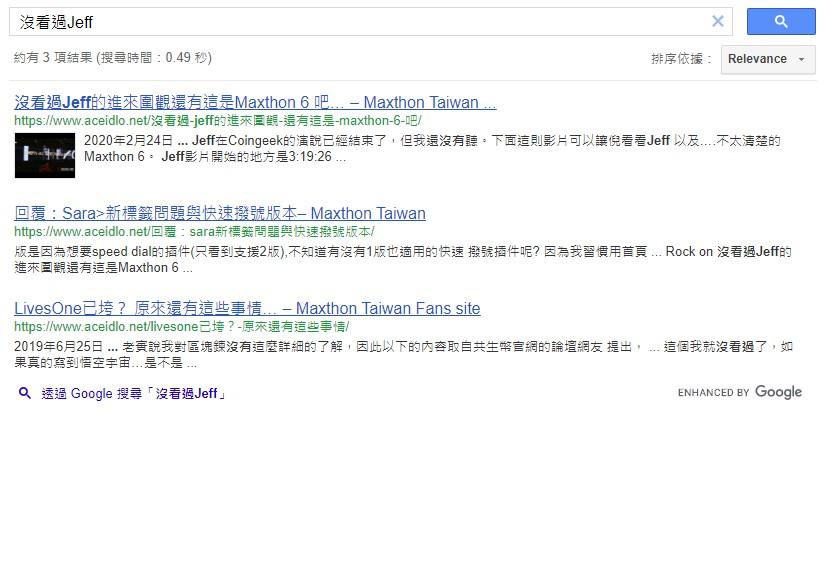 在 Google自訂搜尋引擎中顯示 WordPress的精選圖片 3