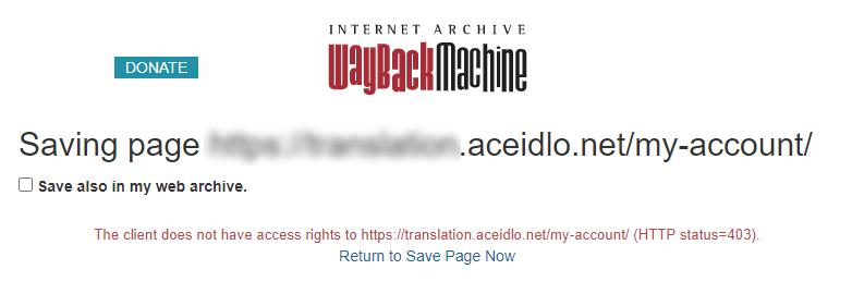 阻擋 Wayback Machine的方式 3